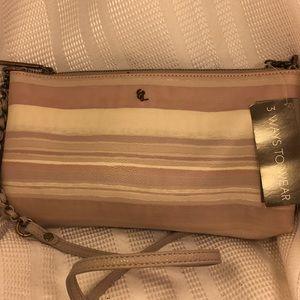 NWT Elliott Lucca 3-ways to wear classic sleek bag
